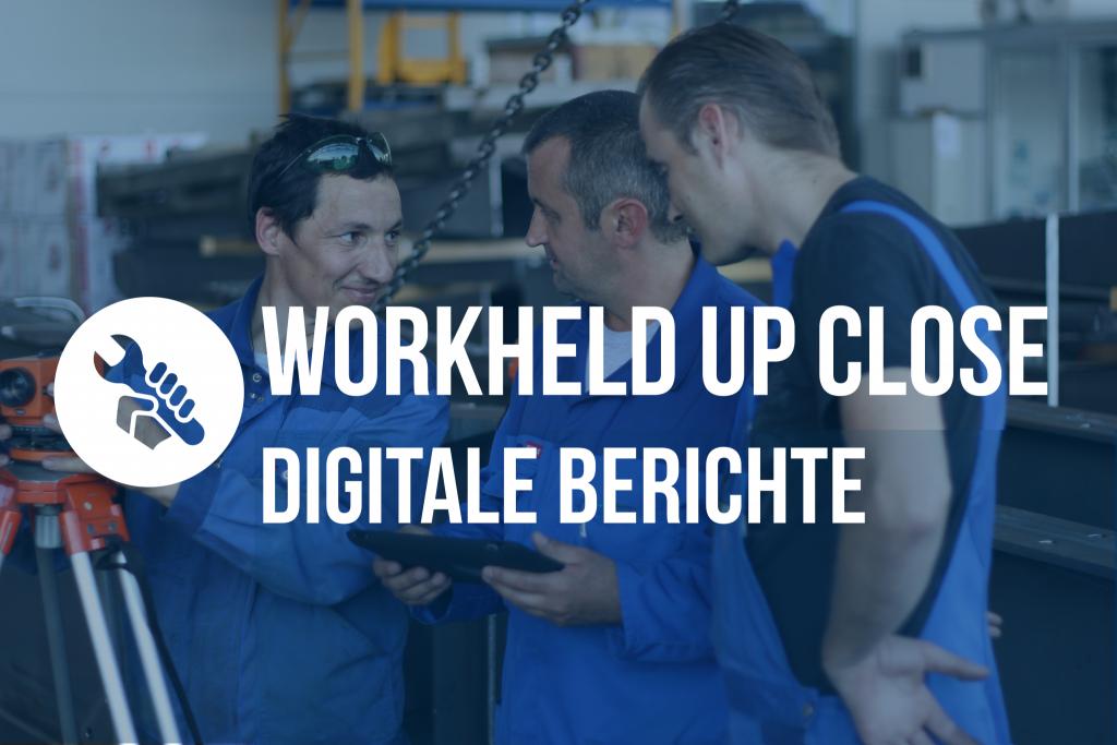 Serviceberichte & Montageberichte in WorkHeld: Einfach individuell